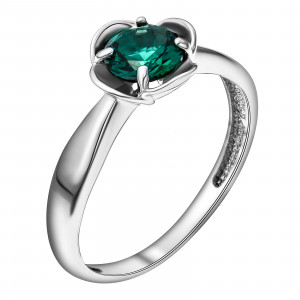 925 Sterling Silver women's rings with tourmaline