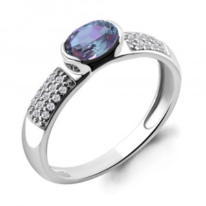 925 Sterling Silver women's rings with aleksit