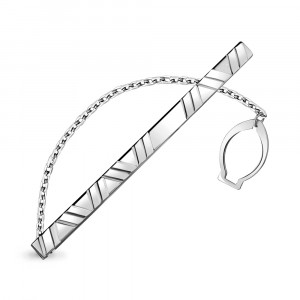 925 Sterling Silver tie clips