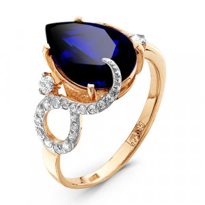 925 Sterling Silver women's rings with crystal jewelry and cubic zirconia