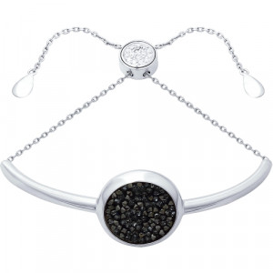 925 Sterling Silver bracelets with cubic zirconia and cubic zirconia swarovski