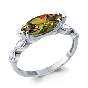 925 Sterling Silver women's rings with sultanic