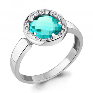 925 Sterling Silver women's rings with nano-tourmaline