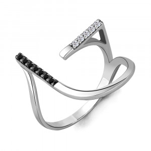 925 Sterling Silver women's rings with cubic zirconia and spinel
