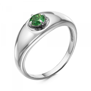 925 Sterling Silver women's rings with synthetic spinel