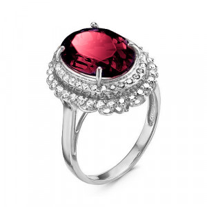 925 Sterling Silver women's rings with crystal and cubic zirconia