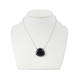 925 Sterling Silver necklaces with onyx