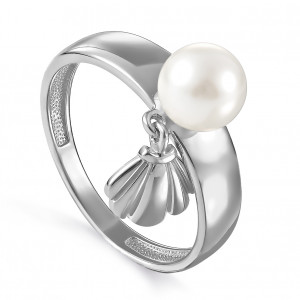 women's rings with pearl cult.