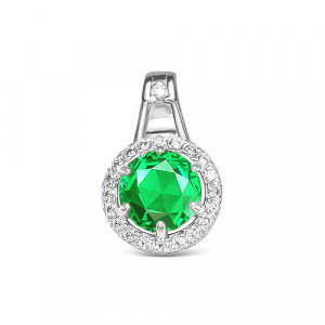 925 Sterling Silver pendants with crystal jewelry