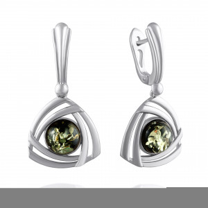 925 Sterling Silver pair earrings with