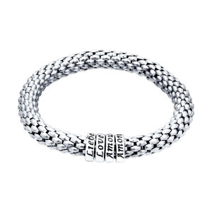 925 Sterling Silver bracelets with cubic zirconia and enamel