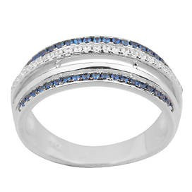 925 Sterling Silver women's rings with microstake