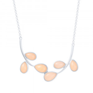 925 Sterling Silver necklaces with calcite