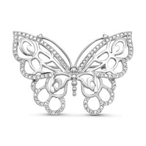 brooches with cubic zirconia