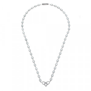925 Sterling Silver necklaces with topaz and cubic zirconia