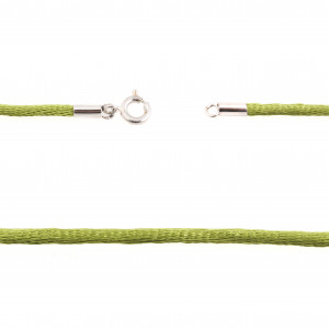 925 Sterling Silver cords with nylon