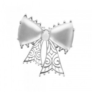 925 Sterling Silver brooches with quartz and mother of pearl