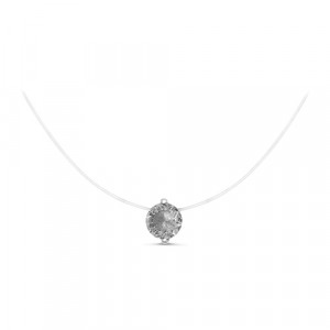 925 Sterling Silver necklaces with crystal